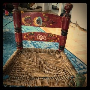 Other - Antique child's chair .